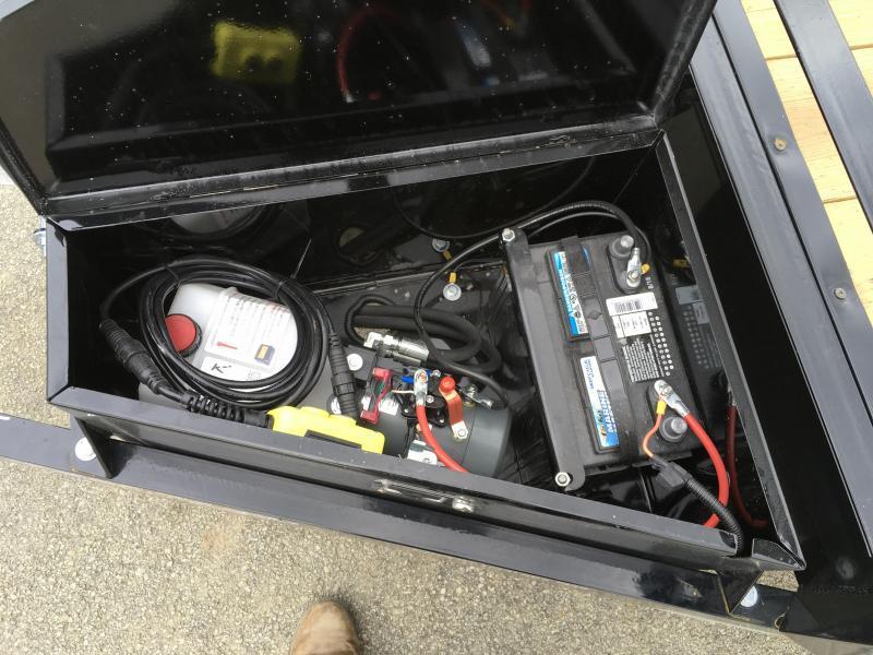 2019 H&H 7x20' EX Power Tilt Car Hauler 9990# GVW * POWER UNIT * DUAL TOOLBOXES * CLEARANCE - FREE ALUMINUM WHEELS