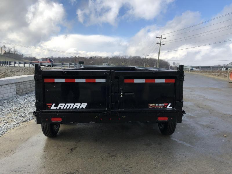 2018 Lamar 7x16' Dump Trailer 21000# GVW - TARP * RAMPS* 12K JACK 2 SPEED * 14-PLY RUBBER * REAR SUPPORT STANDS