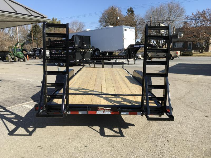 2018 Lamar 7x20' H6 Equipment Trailer 14000# GVW