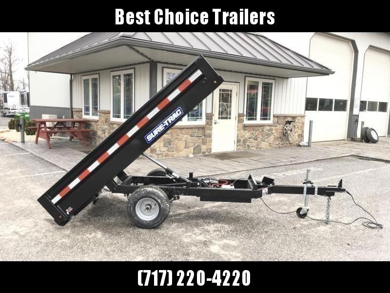 2019 Sure-Trac 4.5x8 Utility Dump Trailer 2990# GVW w Ramps