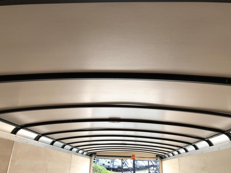 2019 Sure-Trac 8.5x24' Enclosed Car Trailer 9900# GVW - STRCH10224TA-100 * BLACK