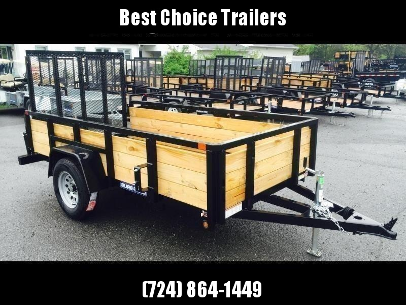 2020 Sure-Trac 5x10' Tube Top 3-Board High Side Utility Landscape Trailer 2990# GVW