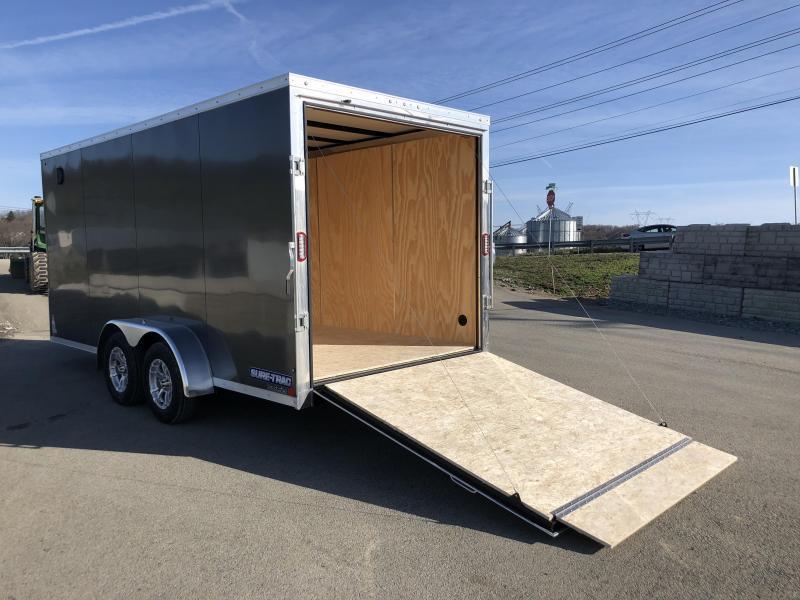 2018 Sure-Trac 7x16' Enclosed Cargo Trailer 7000# GVW * BLACK