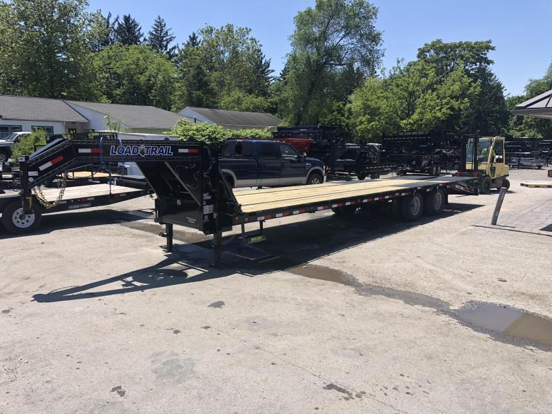 2019 Load Trail 102x32' Gooseneck Beavertail Deckover Flatbed 22000# Trailer * GP0232102 * MAX Ramps * HDSS Suspension * Dexter Axles