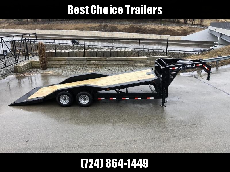"2019 Ironbull 102x26 Power Tilt Equipment Trailer 14000# * 102"" DECK * DRIVE OVER FENDERS * FULL DECK POWER TILT"