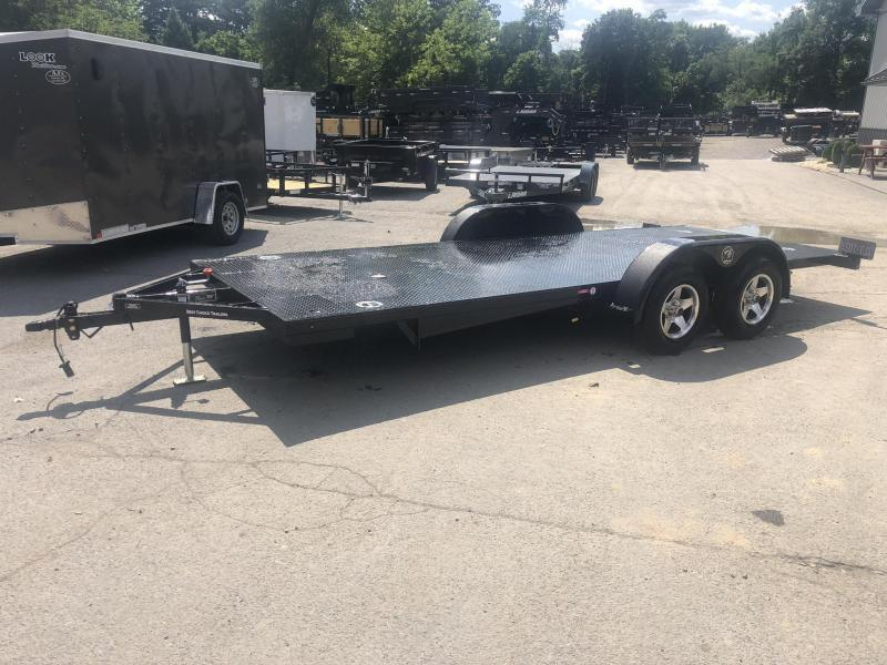 2019 Kwik Load 7x20' Texas Rollback Car Trailer 7000# GVW * ALUMINUM WHEELS * LOW LOAD ANGLE * STEEL FLOOR * TORSION
