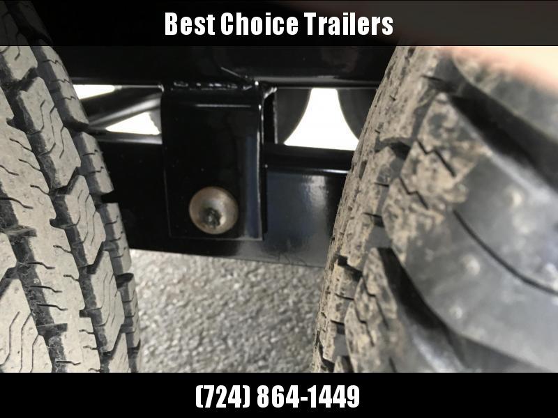 2019 Sure-Trac 8x16' HD Deckover Dump Trailer Fold Down Sides 14000# GVW