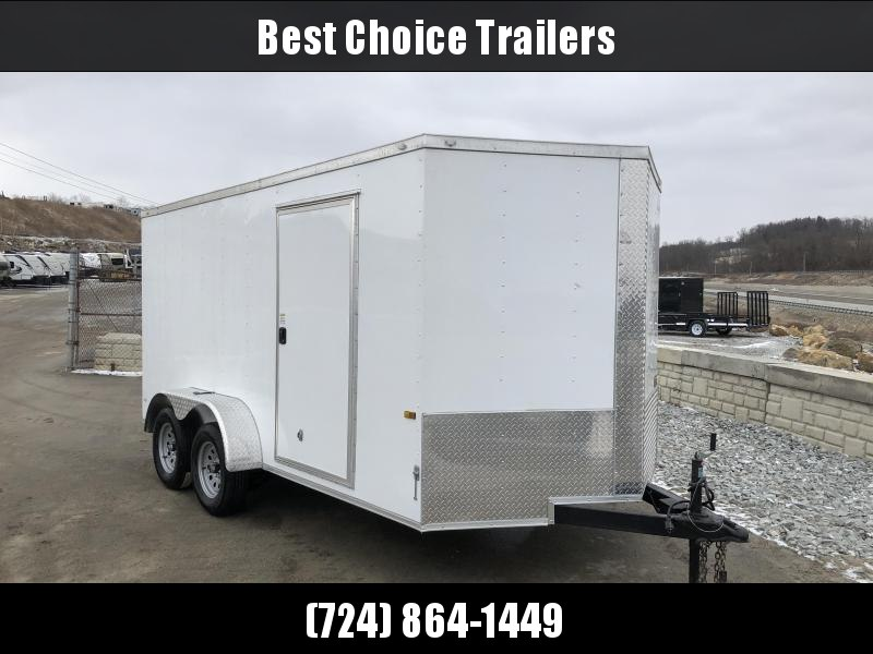 2018 Rock Solid 7x14' Enclosed Cargo Trailer 7000# GVW