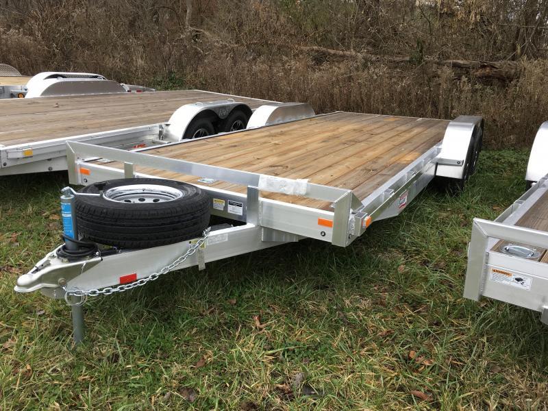 2018 American Hauler 7x20' Aluminum Car Trailer 9990# GVW