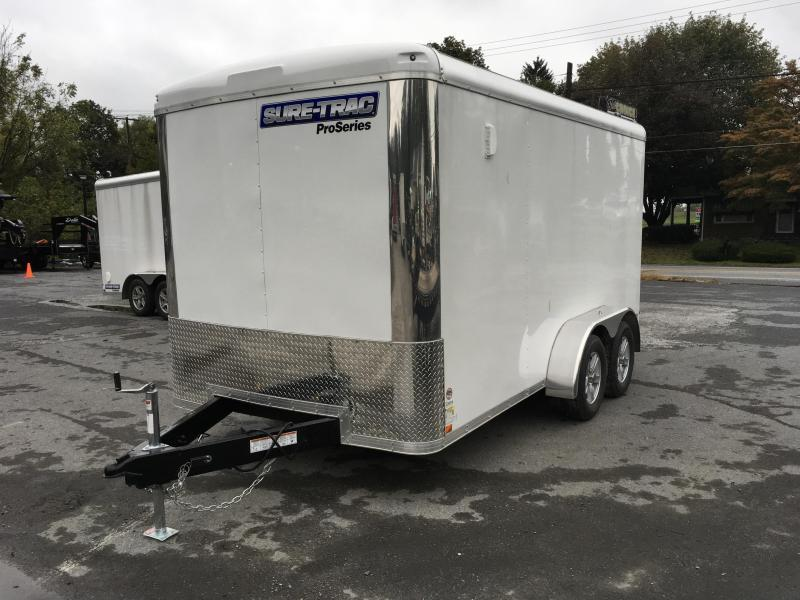 2018 Sure Trac 7x14' Enclosed Cargo Trailer 7000# GVW