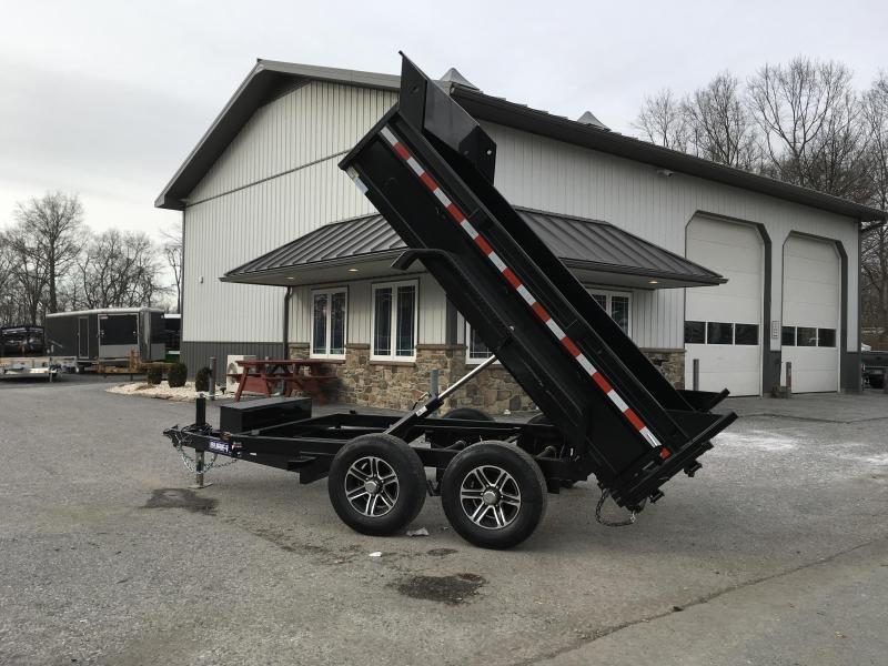 2019 Sure-Trac 6x10' LP Hydraulic Dump Trailer 9900# GVW * DROP LEG JACK * UNDERMOUNT RAMPS * COMBO GATE