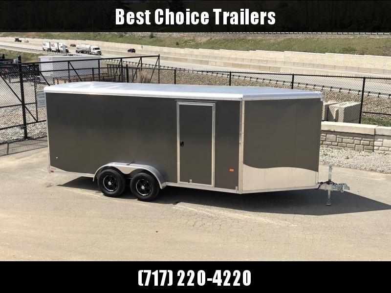 "2019 Neo 7x20' NASR Aluminum Enclosed All-Sport Trailer * CHARCOAL * FRONT RAMP * NXP LATCHES * FLOOR TIE DOWN SYSTEM * REAR JACKSTANDS * UPGRADED 16"" OC FLOOR * UPPER CABINET * UTV * ATV * Motorcycle * Snowmobile in Ashburn, VA"