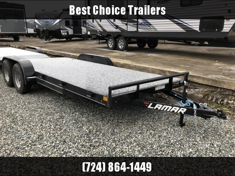 2018 Lamar 7x18' Steel Deck Car Trailer 7000# GVW