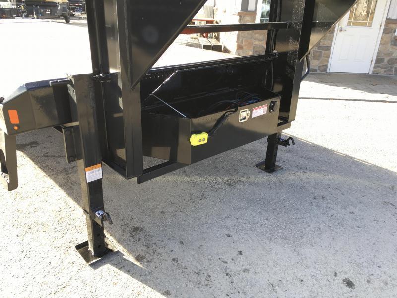 2020 Sure-Trac 102x26' Gooseneck Power Tilt Deckover 17600# GVW * 8K AXLE UPGRADE * WINCH PLATE * OAK DECK