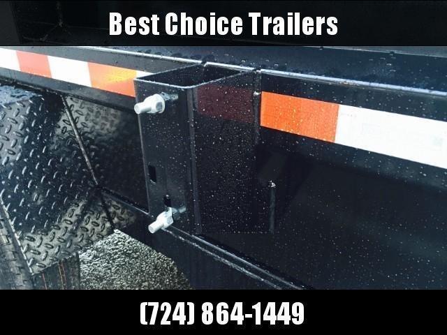 2019 Sure-Trac 5x8' Dump Trailer 5000# GVW BARN DOORS