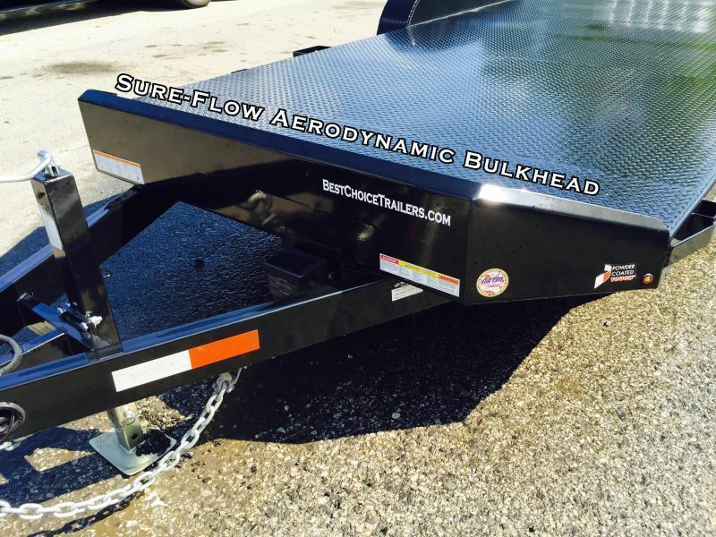 2018 Sure-Trac 7x18 Steel Deck Car Hauler 7000# Race Trailer LOW ...