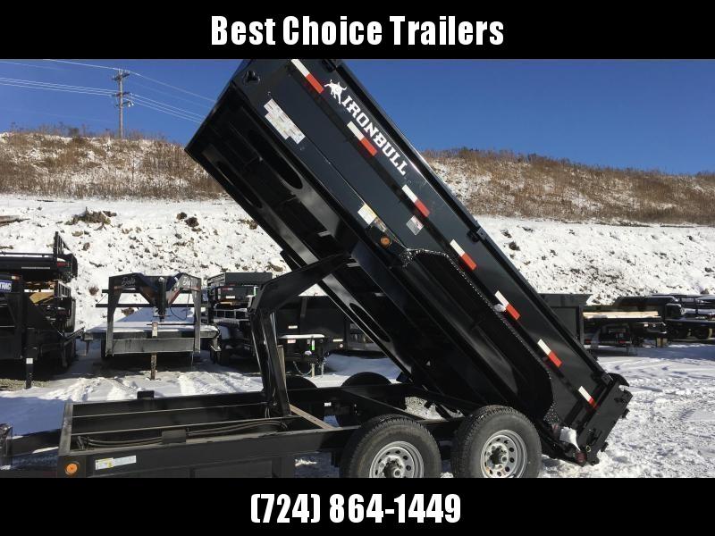 2019 Iron Bull 7x14' Dump Trailer 14000# GVW RAMPS * TARP * SCISSOR * SPARE MOUNT in Ashburn, VA