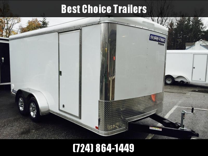 2019 Sure-Trac 7x16' Enclosed Cargo Trailer 7000# GVW * SCREWLESS EXTERIOR in Ashburn, VA