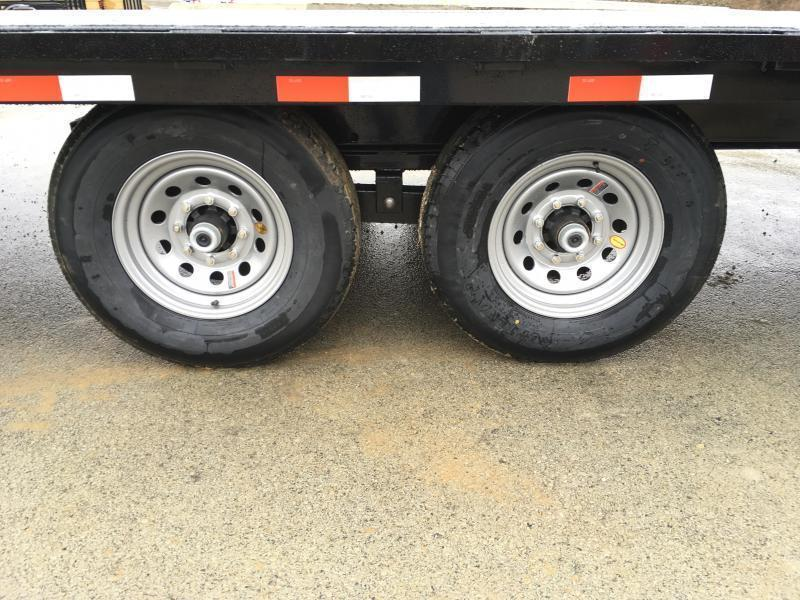 "2018 Iron Bull 102""x22' Deckover Power Tilt Trailer 14000# GVW * CLEARANCE - FREE ALUMINUM WHEELS"
