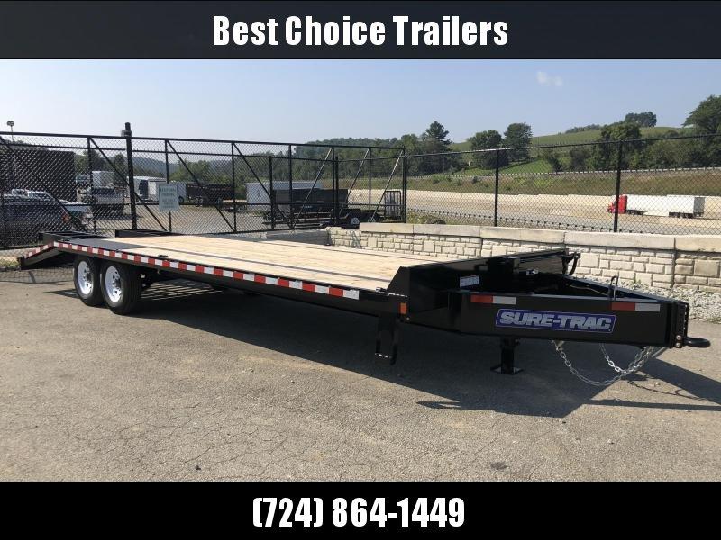 2018 Sure-Trac 102x20+5' Beavertail Deckover Trailer 15000# GVW