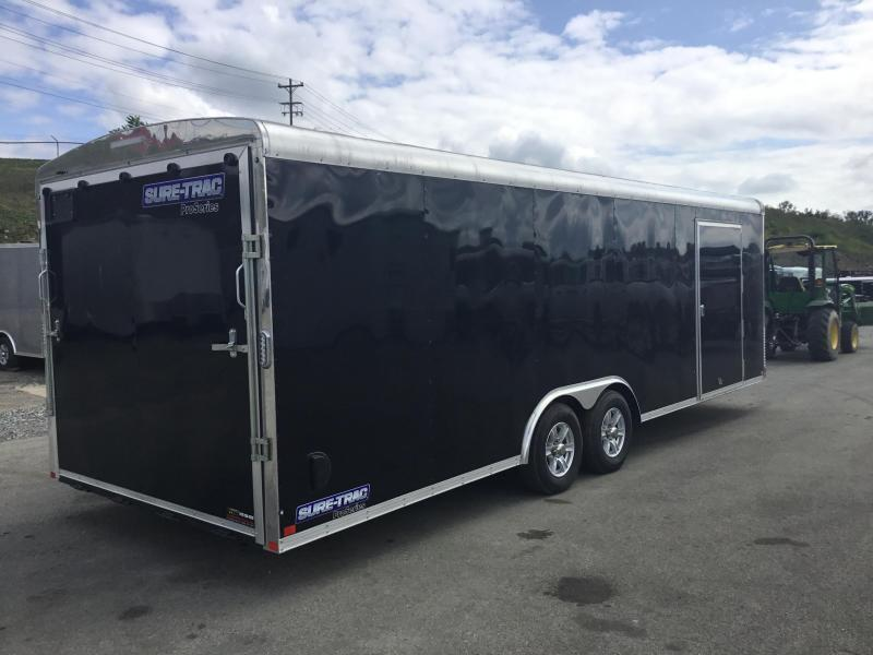 2019 Sure-Trac 8.5x24' Enclosed Car Trailer 9900# GVW - STRCH10224TA-100