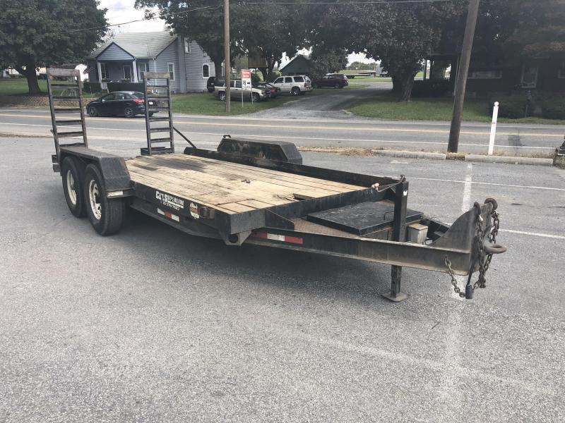 USED 2006 Cam Superline Equipment Trailer 7x18' 13800# GVW * Stand Up Ramps