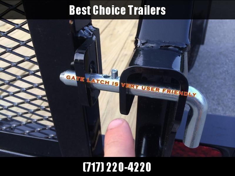 2019 Sure-Trac 5x10' Angle Iron Utility Landscape Trailer 2990# GVW