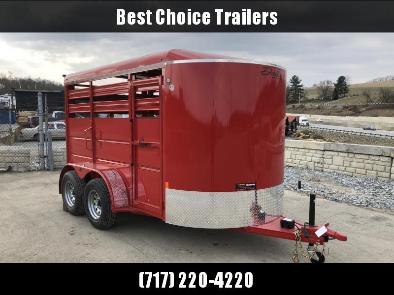 2018 Delta Manufacturing 500ES 12' Livestock Trailer