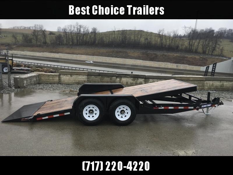 2018 Sure-Trac Tilt Bed Equipment Trailer 7'x18' 14000#