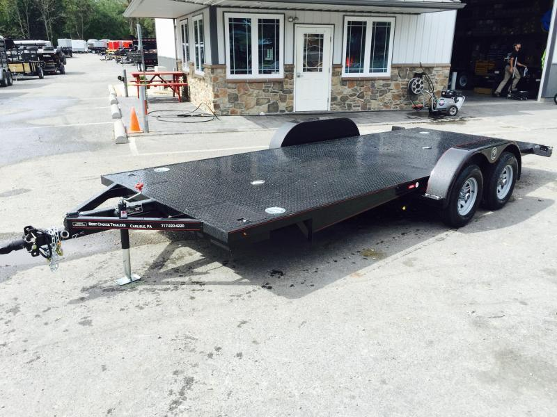 2018 Kwik Load 7x18' Texas Rollback Car Trailer 7000# GVW