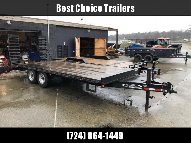 USED 2009 Quality Deckover Flatbed 102x16+4 9990# GVW