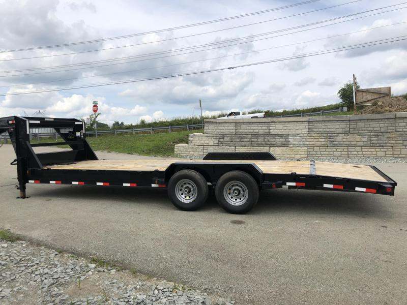 2018 Ironbull 7x24' Gooseneck Car Hauler Equipment Trailer 14000# * WINCH PLATE