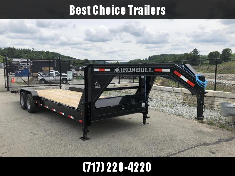 2018 Ironbull 7x24' Gooseneck Car Hauler Equipment Trailer 14000# * WINCH PLATE in Ashburn, VA