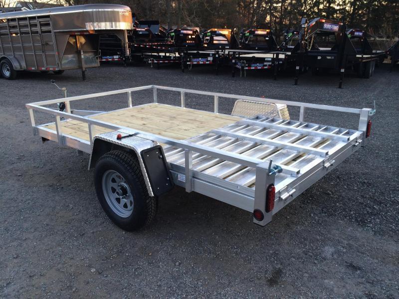 2019 QSA 6x10' Simplicity Aluminum Utility Trailer 2990# GVW