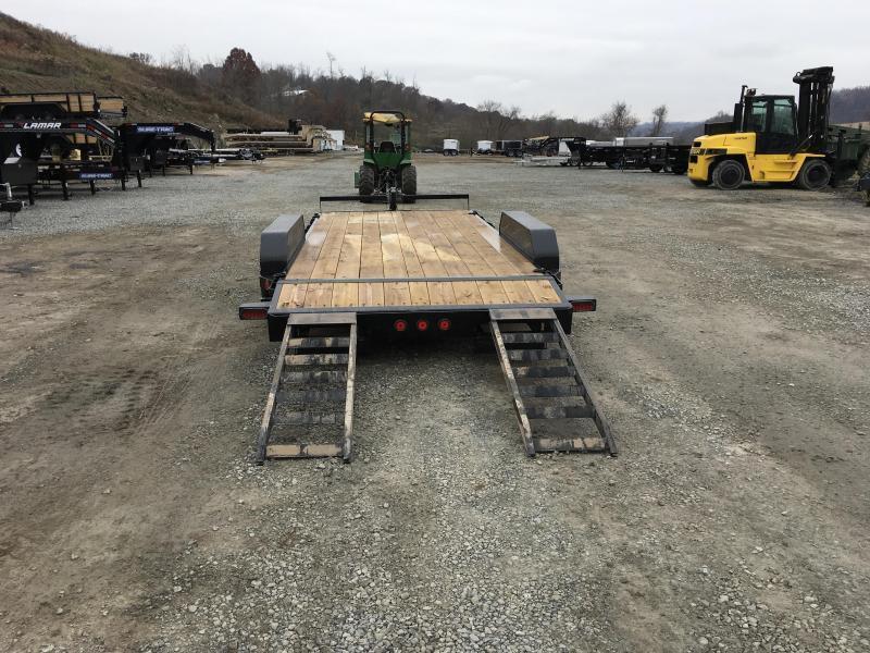2020 Iron Bull 7x18' Wood Deck Car Trailer 9990# GVW