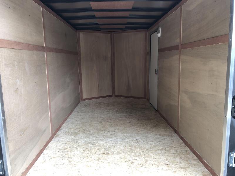 2018 Wells Cargo 6x12' Fastrac Enclosed Cargo Trailer 2990# GVW * WHITE EXTERIOR * RAMP DOOR