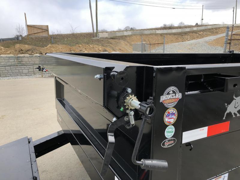 2019 Iron Bull 6x12' Dump Trailer 14000# GVW RAMPS * TARP * SCISSOR