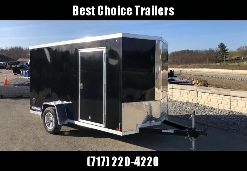 2018 Sure-Trac 6x10' STW Enclosed Cargo Trailer 2990# GVW * CHARCOAL * RAMP DOOR