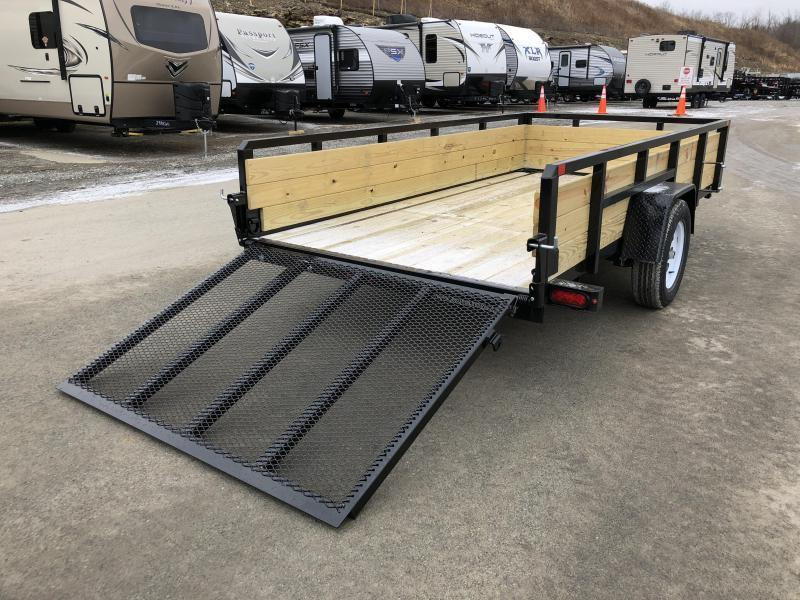2018 Sure-Trac 6x12' Tube Top 3-Board High Side Utility Landscape Trailer 2990# GVW