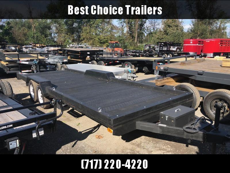 USED Wilderness 20' Flatbed Trailer * ATV * UTV * HAY HAULER