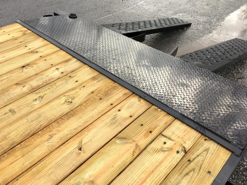 2019 Sure-Trac CHW 7x18 7000# Wood Deck Car Hauler