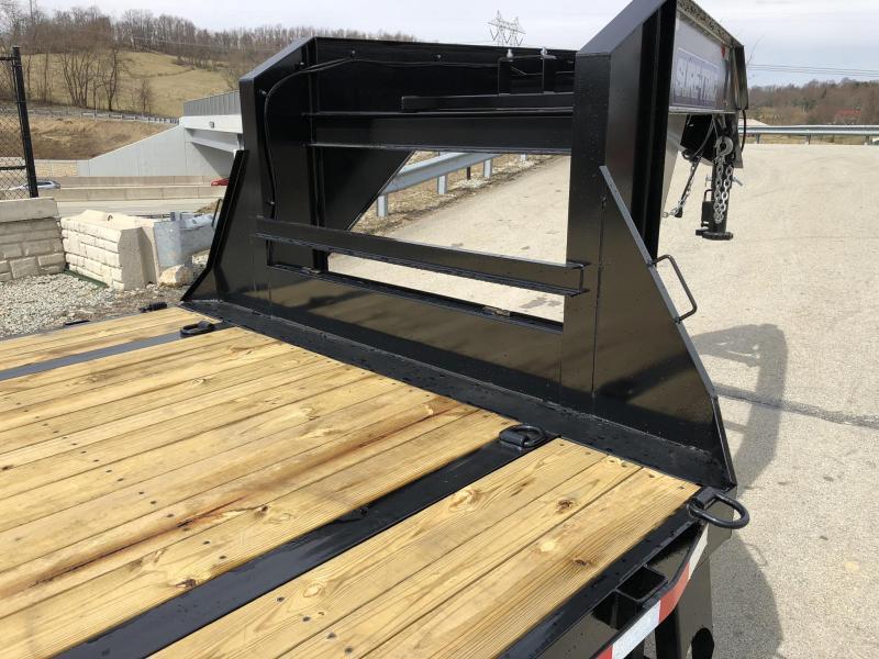 2018 Sure-Trac 102x20+5' Gooseneck Beavertail Deckover Trailer 15000# GVW * PIERCED FRAME * CLEARANCE - FREE ALUMINUM WHEELS