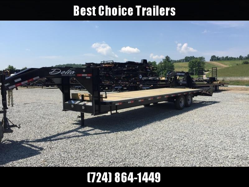 2018 Delta 25+5 Gooseneck Deckover Trailer 14000# GVW * CLEARANCE in Ashburn, VA