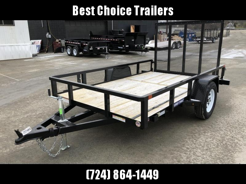 2018 Sure-Trac 6x10' 2990# Tube Top Landscape Utility Trailer
