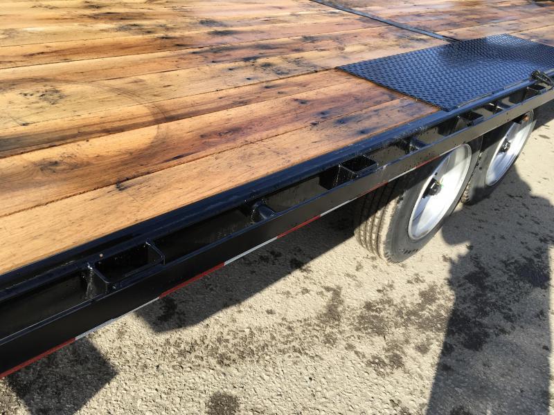 2018 Sure-Trac 102x22' Gooseneck Power Tilt Deckover 17600# GVW * WINCH PLATE * OAK DECK