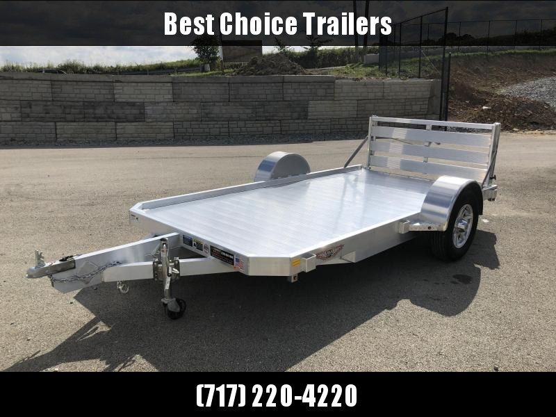 2018 H&H 6x12' LSA Utility Trailer 2990# GVW * CLEARANCE - FREE ALUMNIUM SPARE