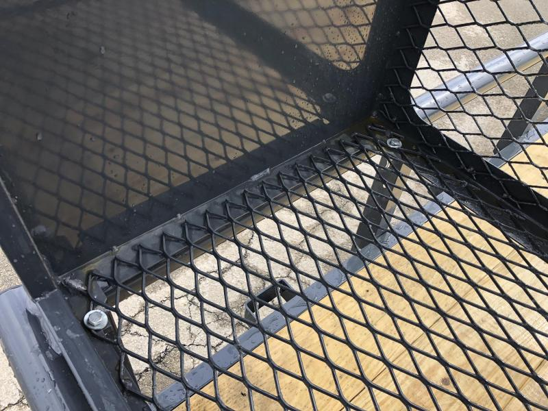 2019 Lamar 7x20' Pipe Top Channel Frame Utility Landscape Trailer 9990# GVW * UC832025-LS * TOOLCAGE * ADJUSTABLE COUPLER * DROP LEG JACK * PIPE TOP * UTV HAULER * COMMERCIAL LANDSCAPER * 5' GATE UPGRADE