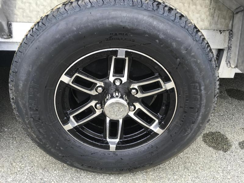 "2018 H&H 102""x20' 9990# Low Profile Aluminum Car Hauler * BUGGY HAULER * HEAVY DUTY * TORSION DROP AXLES * 8"" FRAME * SWIVEL D-RINGS * EXTRUDED BEAVERTAIL * 102"" DECK EXTENSION * DRIVER OVER FENDERS"