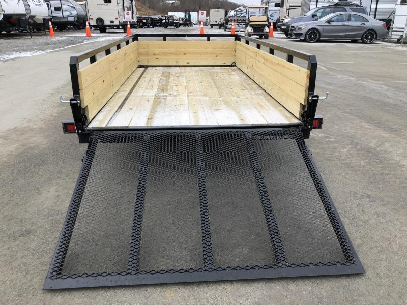2019 Sure-Trac 6x12' Tube Top 3-Board High Side Utility Landscape Trailer 2990# GVW