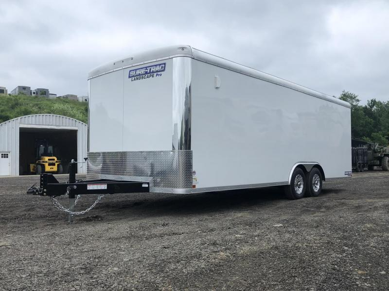 2019 Sure-Trac 8.5x22' STRLP Landscape Pro Package Trailer 9900# GVW